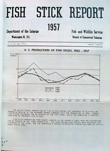 Fish Stick Report 1957