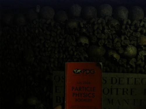PDG at the Catacombes of Paris