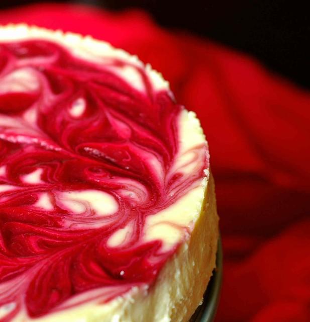 Raspberry - Swirl Cheesecake - a photo on Flickriver