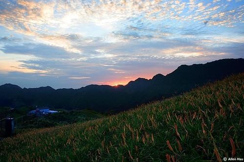 sunrise geotagged taiwan 2006 daylily hualien 花蓮 金針花 fuli 六十石山 富里 mtliushidan geo:tool=gmif geo:lat=23222022 geo:lon=121316638