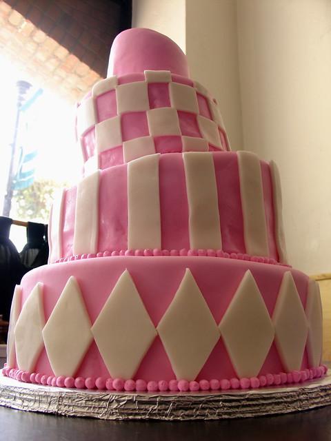 Pink Champagne Wedding Cake Flickr Photo Sharing