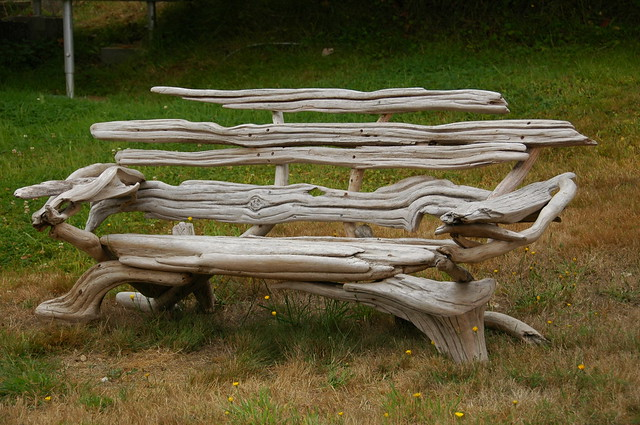 Driftwood Bench Flickr Photo Sharing