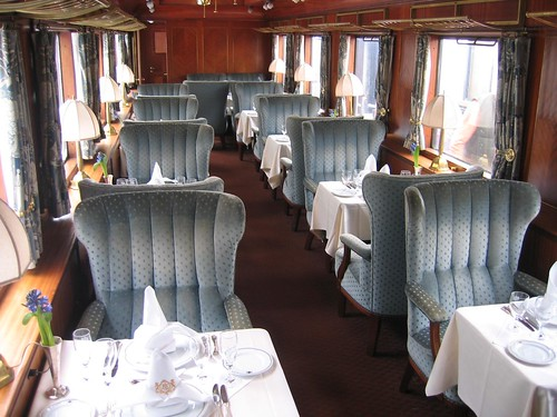 The private Orient Express Train (Europe)