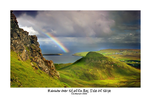 Rainbow Over Staffin, Isle of Skye