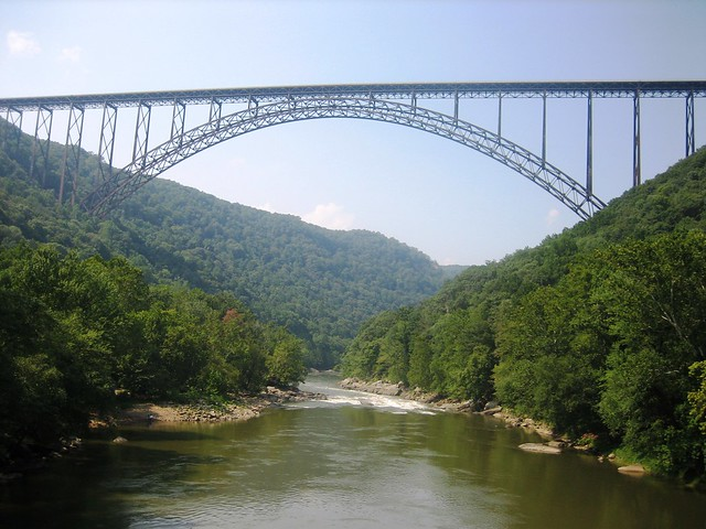 New River Gorge Bridge by CC user nukeit1 on Flickr