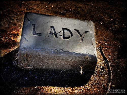 lady's tombstone by Kris Kros