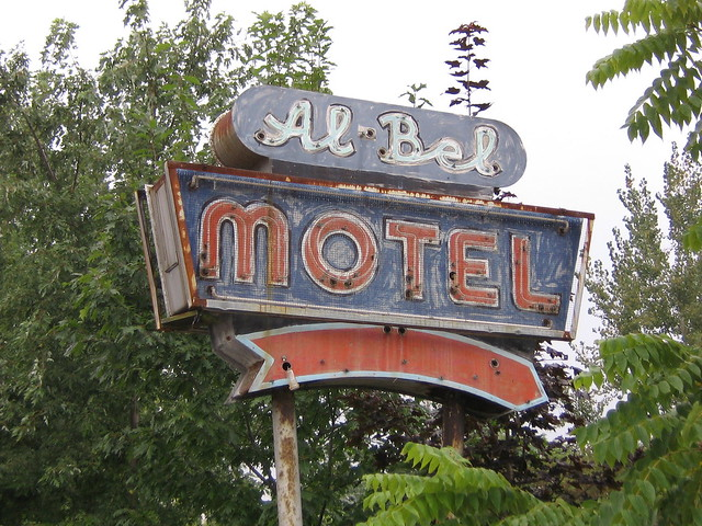 Al-Bel Motel - 7002 South Salina Street, Nedrow, New York U.S.A. - July 9, 2005