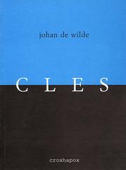 Particles Johan De Wilde isbn 90-76593-03-5 D/2006/8545/2 may 2006  front