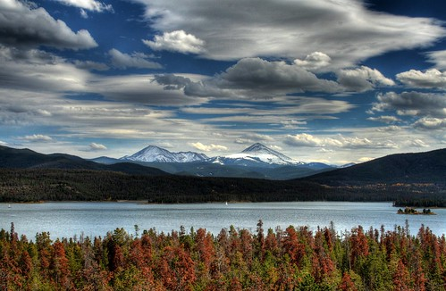 Lake Dillon in Fall
