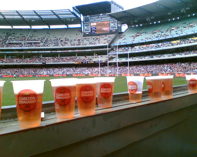 AFL Football and Beer at the MCG, Melbourne | Flickr ...