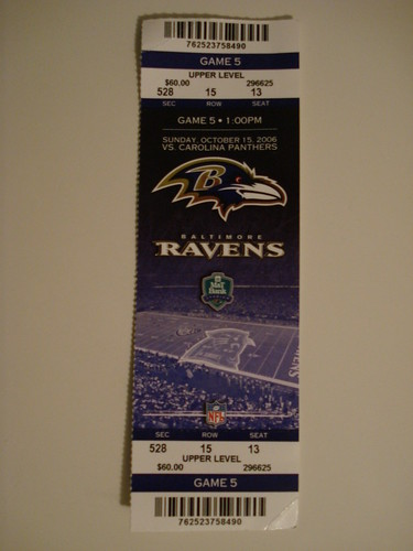 TICKETS NFL