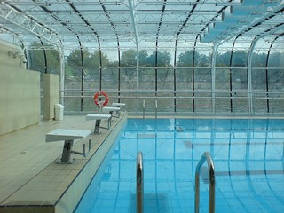 Take a swim at Piscine Josephine Baker - Things to do in Paris