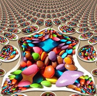 Would you care for some Smarties, Mr Mandelbrot ?