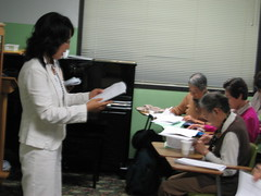 Medicare Survey at ESL School 10-24-06 by Korean Resource Center 민족학교