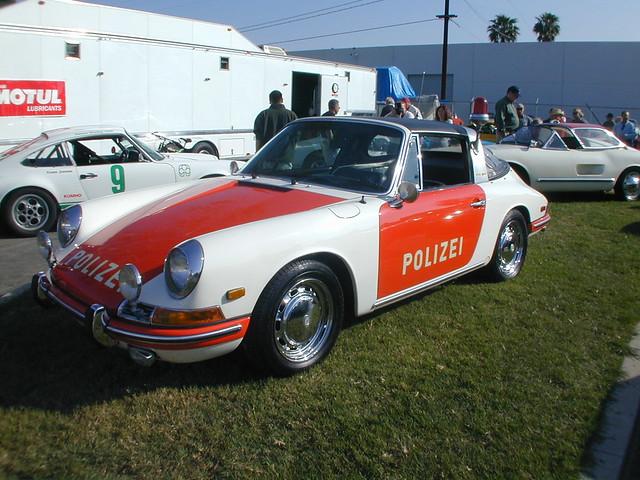 Porsche Cars Porsche 911 Targa Police Car