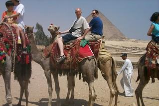 Me on a camel, Giza, Egypt