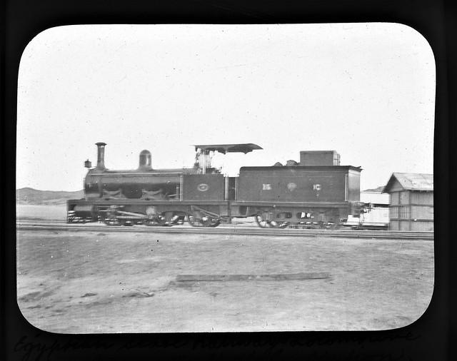 Egypt Railways -  Luxor-Aswan Railway 0-4-2 steam locomotive Nr. 15 (Neilson Locomotive Works, Glasgow 5092 or 5093 / 1896)