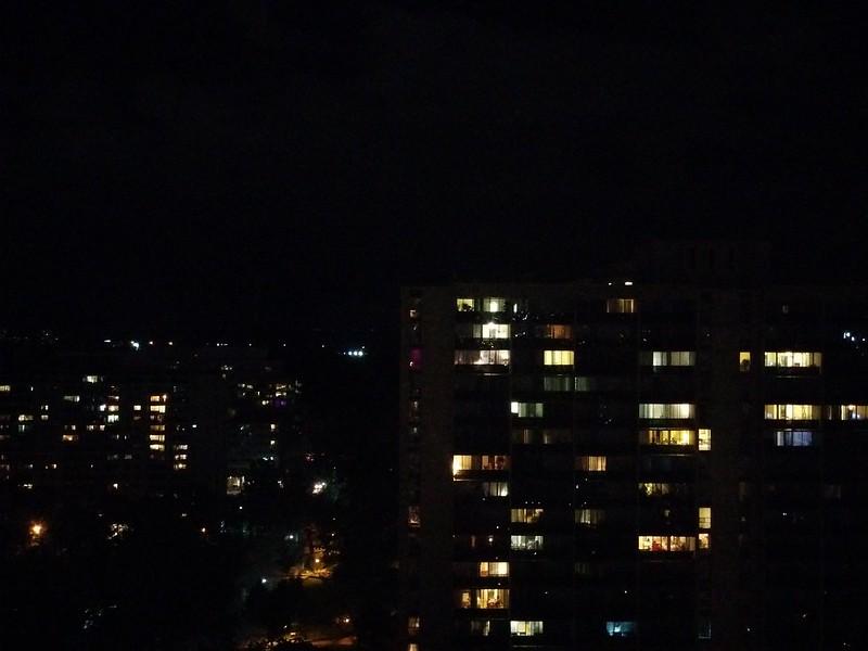 Glittering, east to west (2) #toronto #skyline #highparknorth #lights #night #latergram