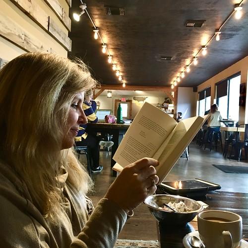 Saturday mornings at Seeds Coffee in West Homewood, Alabama