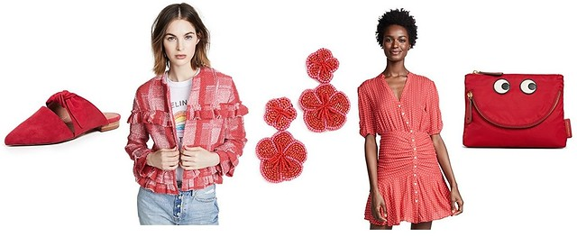 Shopbop - red