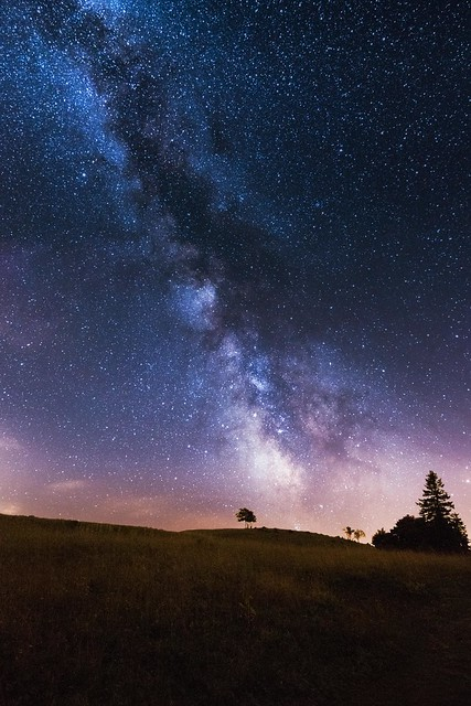Milky Way Creux-du-Van 5min