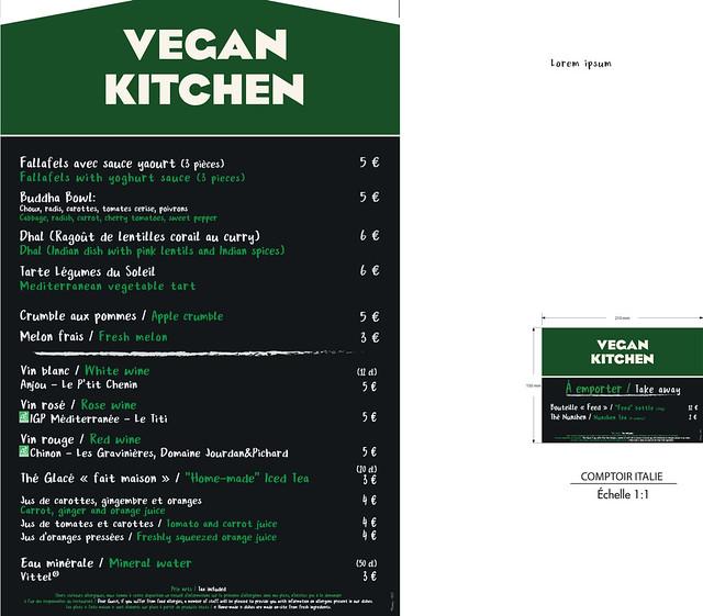 Menu Vegan