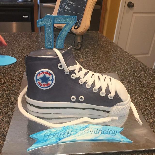 Cake by Christy Stacks of Christy's Custom Cakes