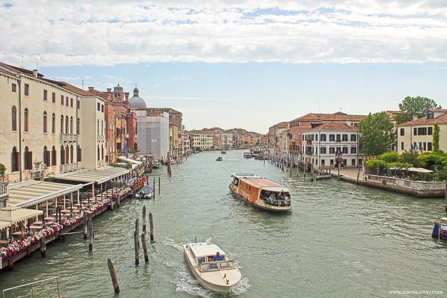 Vista da Ponte degli Scalzi, Santa Croce Venezia