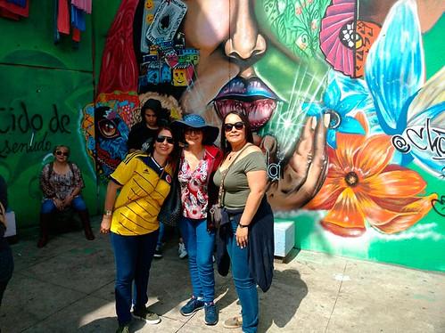 Graffitour - Afiliados Colegio de Jueces y Fiscales de Antioquia - 14 de Abril de 2018