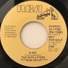 THE NITE-LITERS:K-JEE(LABEL SIDE-A)