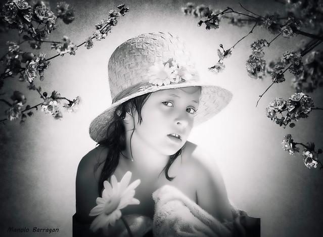 Edición Fotográfica BW... Primavera en Flor.