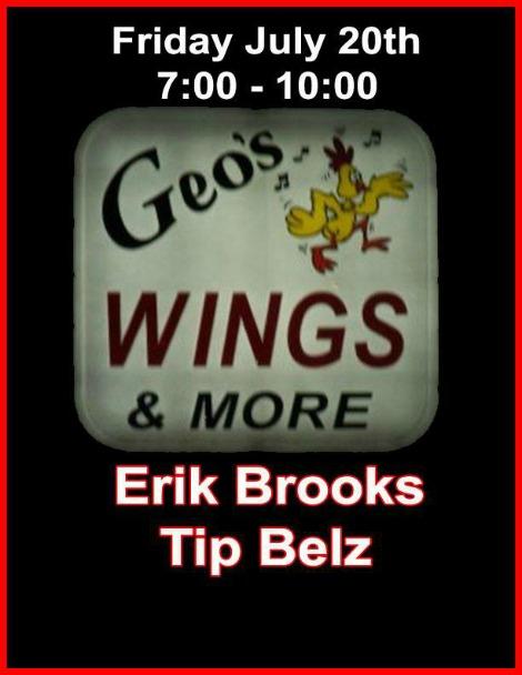 Erik Brooks, Tip Belz 7-20-18