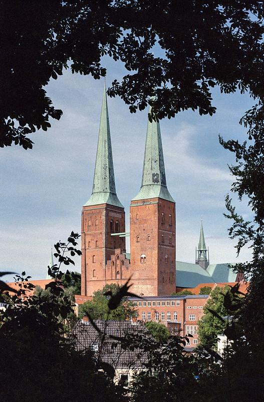 [analog] Lübeck, Dom zu Lübeck