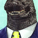 Gojira San: 20th Century Cultural Icon and Snappy Dresser by 4peepsake