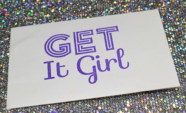 it girl stamping plate 3