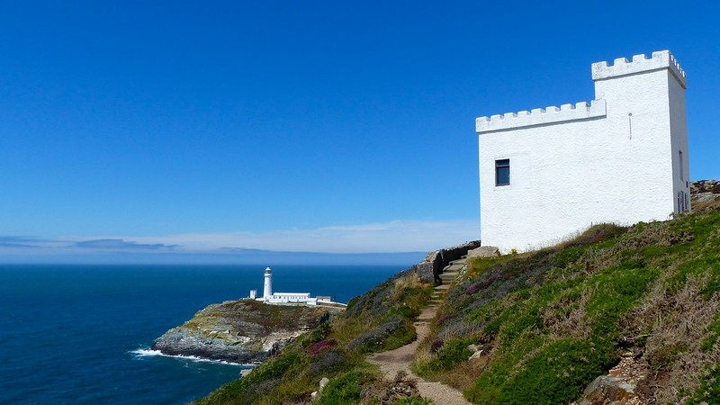 This is a picture of south stack lighthouse