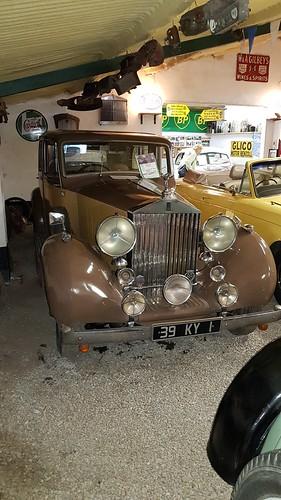 Rolls Royce Wraith 1939 Kilgarvan Motor Museum, Eire. 39 KY 1