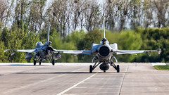 Lockheed Martin F-16C Jastrz?b (4054) and (4067)