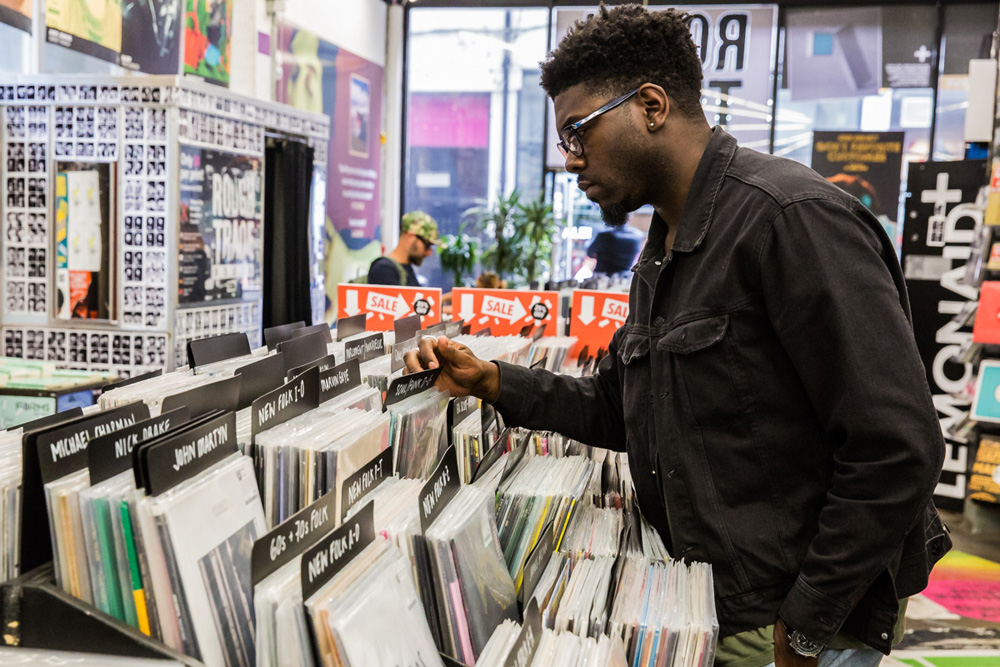 Record Shopping with Jake Isaac