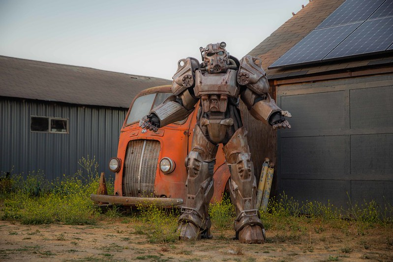 Fallout 4 Power Armor Costume Test