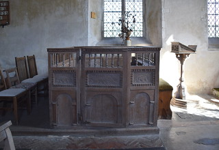 family pew (17th Century)