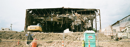 Strand Theater Demolition