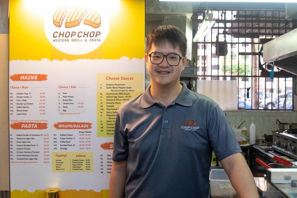 chop chop western stall owner