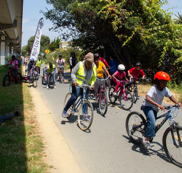 Rich City Rides on the Ohlone Greenway