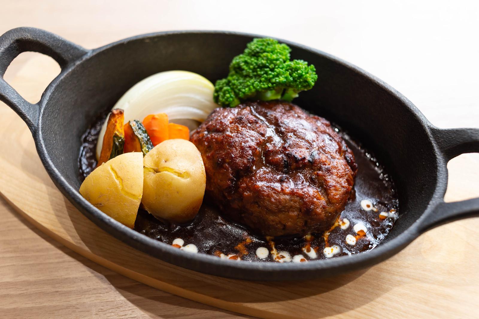 自家製粗挽きハンバーグ / ソラシドキッチン