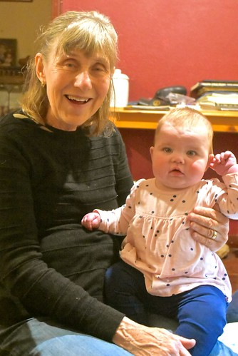 Jill Weaver with Grandaughter Charlotte 8 August 2018