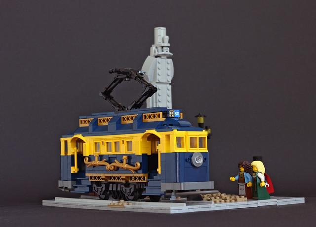 Tram 60 at Imperial Square