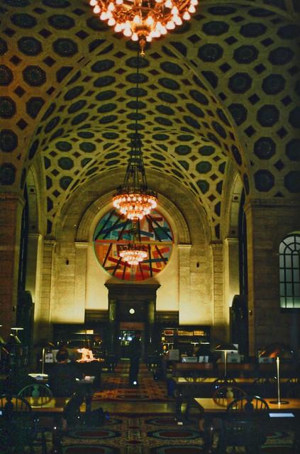 Detroit Michigan -  Detroit Main Library - Interior