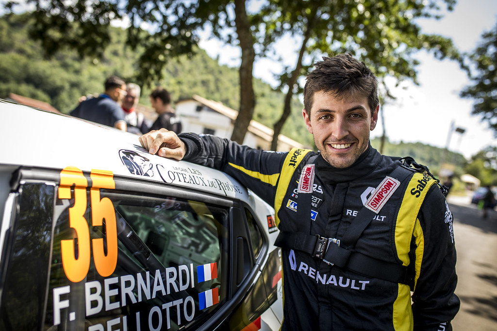 BERNARDI Florian (fra),  BELLOTTO Victor (fra), Renault Clio during the 2018 European Rally Championship ERC Rally di Roma Capitale,  from july 20 to 22 , at Fiuggi, Italia - Photo Gregory Lenormand / DPPI