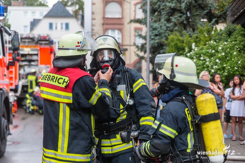 Zimmerbrand Biebrich 28.07.18